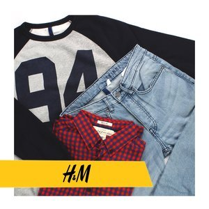 H&M MAN MIX